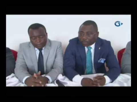 Rtg c r monie d installation des membres du bureau de la - Chambre nationale des huissiers annonce ...