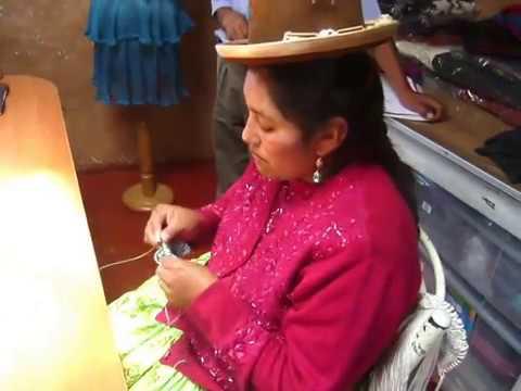Lightning Fast Knitter in Peru
