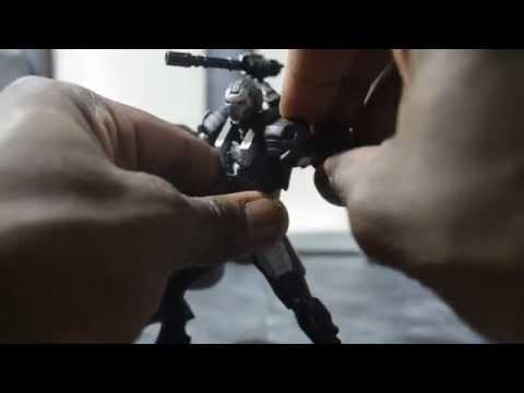 Kaiyodo Micro Yamaguchi Revoltech Mini War Machine Review