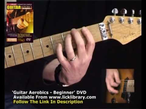 Lick library beginner guitar aerobics