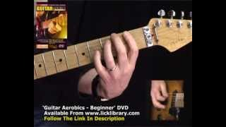 Guitar Warm Up Exercises - Danny Gill Guitar Aerobics DVD Series - LickLibrary