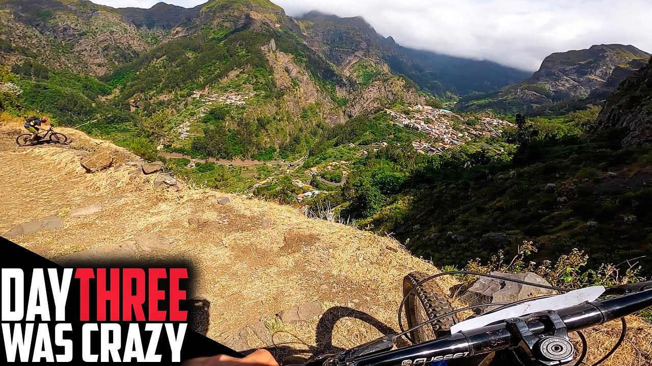 FINDING THE BEST ENDURO TRAIL ON EARTH!! TRANS MADERIA DAY 3