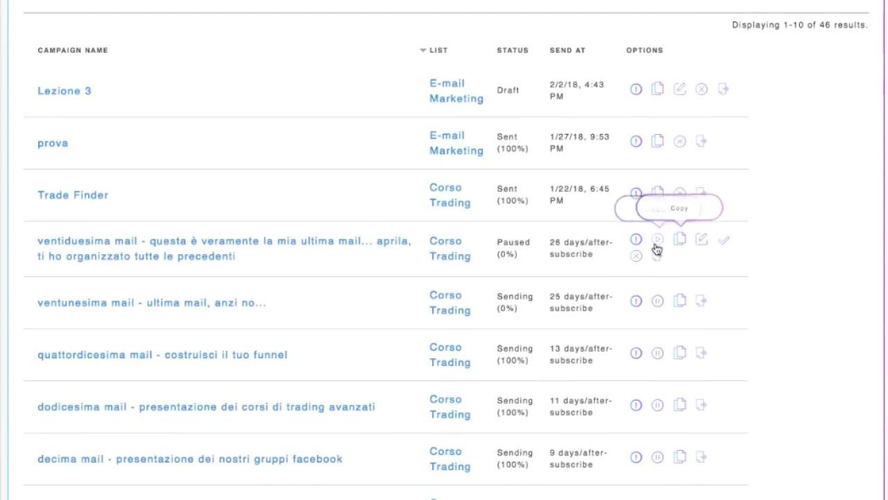 Modificare la email di invio nella campagne già realizzate in Builderall e MailingBoss