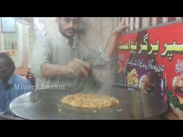 Egg Kabab Ghotala | Street Food Of Karachi