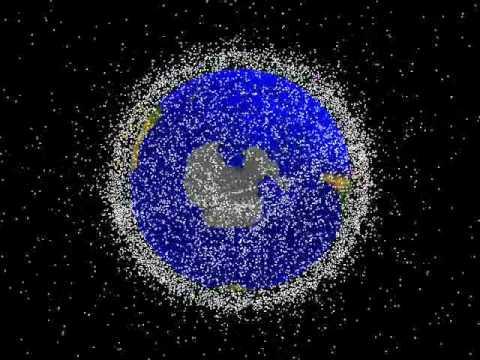nasa space debris tracking youtube