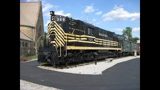A Tour of the Mad River & Nickel Plate RR Museum, Bellevue, OH
