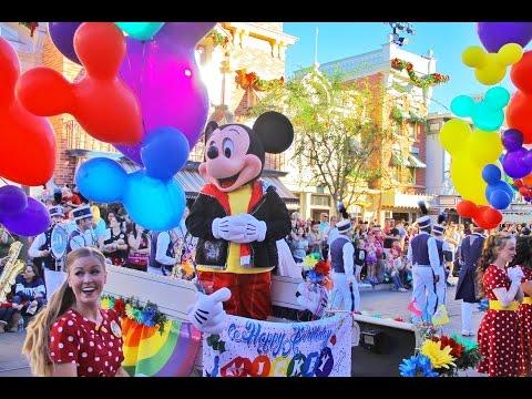 Happy Birthday Mickey! - Disneyland Pre-Parade Celebration