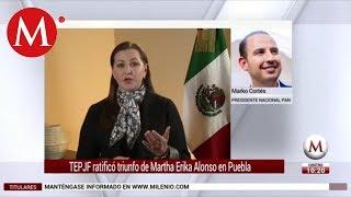 Marko Cortés habla sobre triunfo de Martha Erika Alonso en Puebla