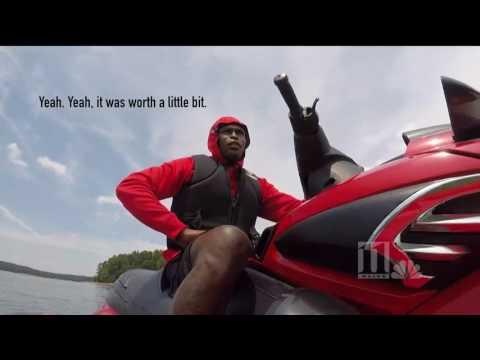 Falcons star Julio Jones looks for $100,000 earring in Lake Lanier