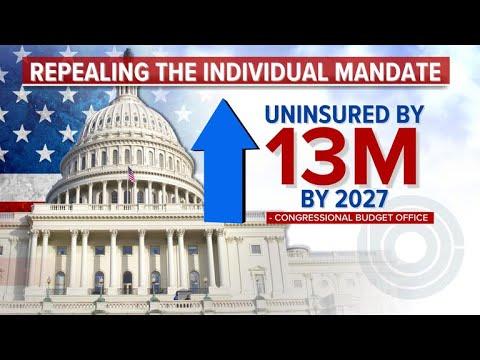Senate GOP to add Obamacare mandate repeal in tax bill