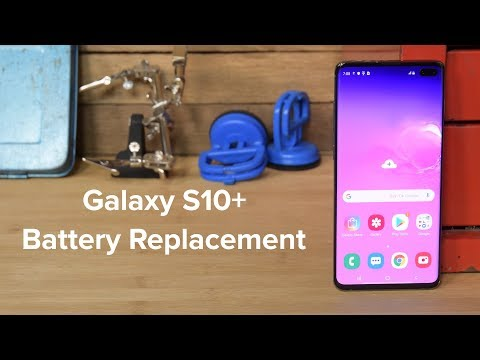 Samsung S10+ Battery Replacement And Reassembly!