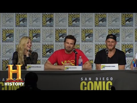 Vikings: Season 4 SDCC Cast Panel (San Diego Comic-Con 2016) | History