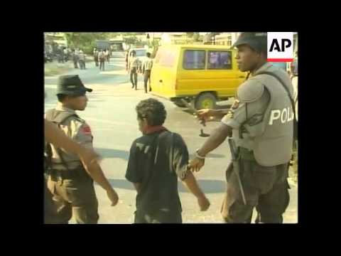 EAST TIMOR: DILI: INDEPENDENCE VOTE: SECURITY (2)