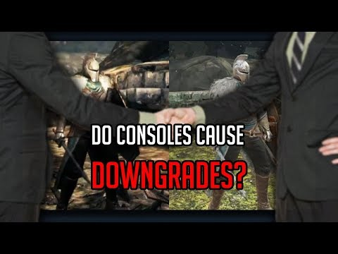 Do consoles cause downgrades? Do consoles hold the PC back?