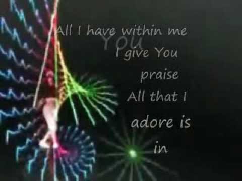 Jeff Deyo - I Give You My Heart (lyrics and dancer)