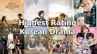 [TOP 20] Highest Rating Korean Drama in Cable TV of All Time (Updated Feb 2019)