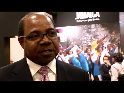 Edmund Bartlett - Minister of Tourism, Jamaica at PART 2 of 2 @ ITB 2010