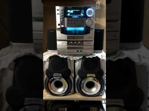 Raridade Aiwa Modelo CX-NAJ80 Único no YouTube