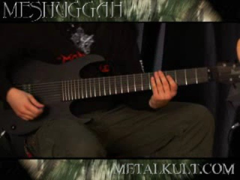 Meshuggah Metal Riff Lesson Part 3