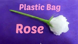 Plastic Bag Rose - DIY