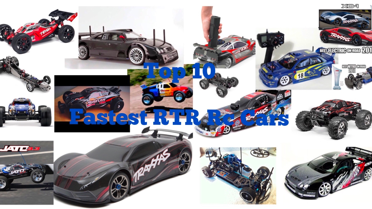 Top 10 Fastest Rtr Rc Cars