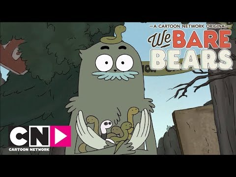 We Bare Bears | Snake Babies | Cartoon Network Africa