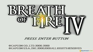 Breath of Fire IV gameplay (PC Game, 2000)