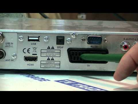 How to Connect & Install a Satellite Combo Receiver
