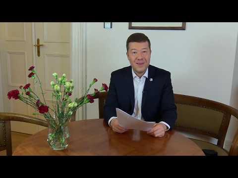 Tomio Okamura aktuálně 4.4.2018 / Hnutí SPD považuje požadavek ČSSD na  odvolání členů SPD...