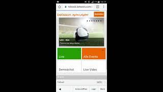 Betsson App - Alles zum Download für iPhone & Android