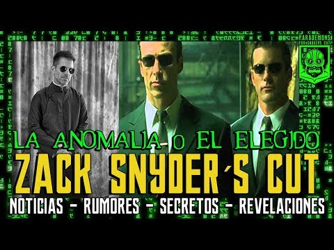 THE MATRIX - ZACK SNYDER´S CUT - WARNER - JUSTICE LEAGUE - LIGA DE LA JUSTICIA  - SUPERMAN - NEO