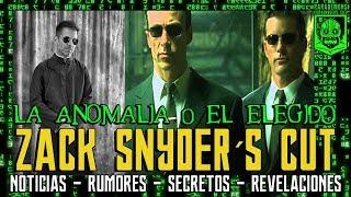 The matrix - zack snyder´s cut - warner - justice league - liga de la justicia  - superman - neo