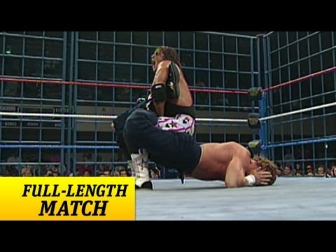 FULL-LENGTH MATCH - Raw - Bret Hart vs. Issac Yankem DDS - Steel Cage Match thumbnail