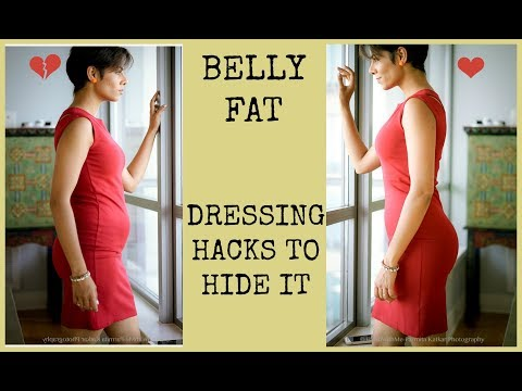 DRESS RIGHT TO HIDE BELLY FAT/STYLING TIPS TO ALWAYS LOOK GO