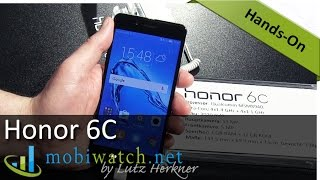Honor 6C Hands-on: Specs, Price and First Impressions