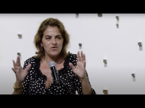 Artist Tracey Emin in conversation with curator Wayne Tunnicliffe