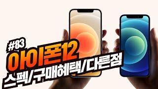 아이폰12 사전예약 스펙과 가격이 모두확정됐다! [한국…