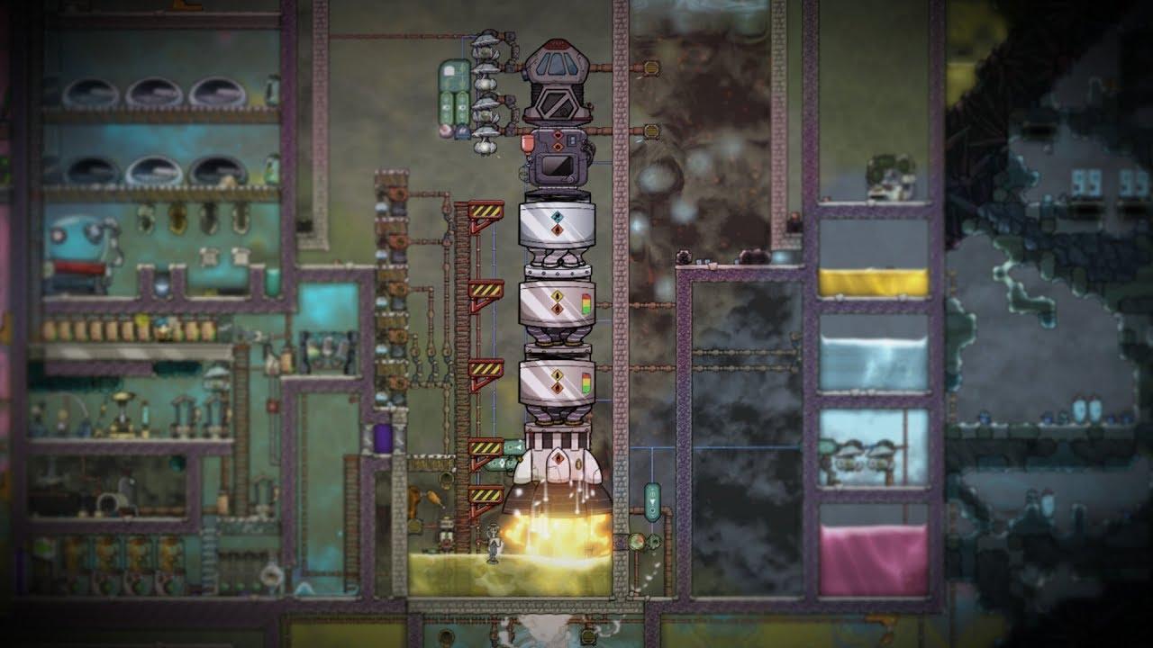 Testing My Rocket Silo! Oxygen Not IncludedI