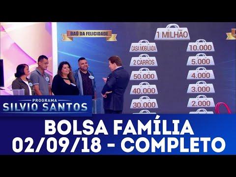 Bolsa Família | Programa Silvio Santos (02/09/18)
