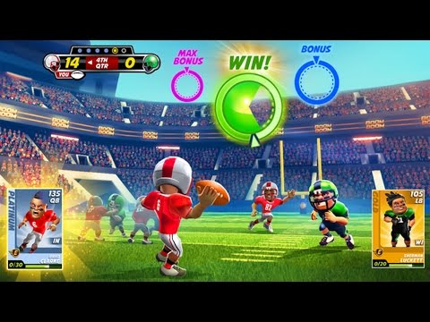Boom Boom Football (By Hothead Games Inc.) - iPhone 6S Gameplay Video