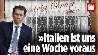 Kanzler Kurz begründet Österreichs knallharte Regelungen | Corona-Krise