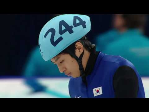Men's 1000m Short Track Speed Skating Full Final   Vancouver 2010 Winter Olympics