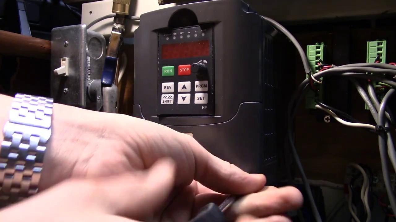 Arduino GRBL VFD Wiring