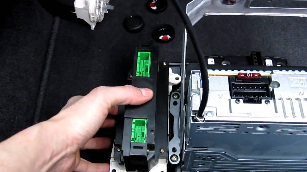 2001 honda civic ex center panel removal change climate control panel replace bulbs youtube [ 1280 x 720 Pixel ]