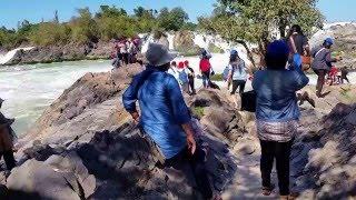 พี่ม้าเที่ยวไทย เที่ยวลาวใต้ น้ำตกคอนพะเพ็ง 4-7 2558