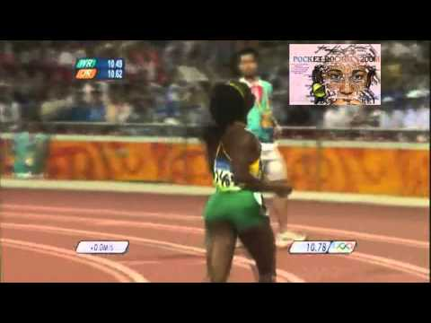 Shelly-Ann Fraser-Pryce 2008 Beijing Olympic 100m Final