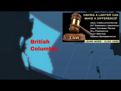 Legal help  Province of British Columbia Canada   Should i Hire an Attorney?