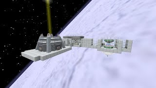 Advanced Rocketry Mod Space Station