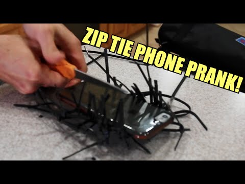 Thumbnail: CRAZY ZIP TIE PRANKS!! - HOW TO PRANK