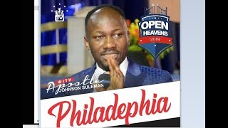 Open Heaven// PHILADELPHIA, USA DAY 1 EVENING with Apostle Suleman